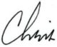 Signiture - Chris